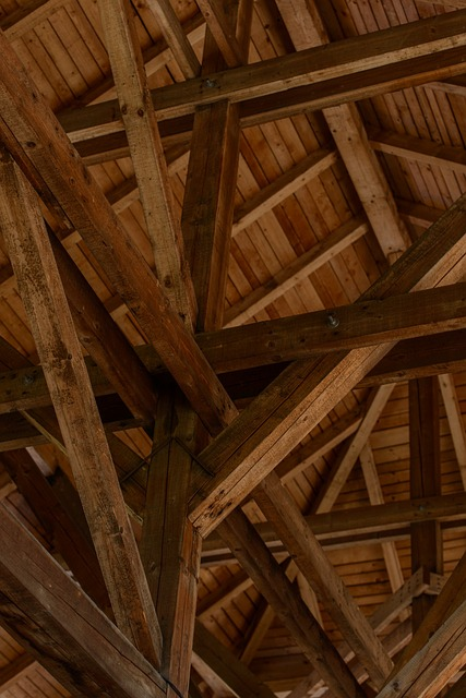 wooden, attic, wood, roof, past, history, castle