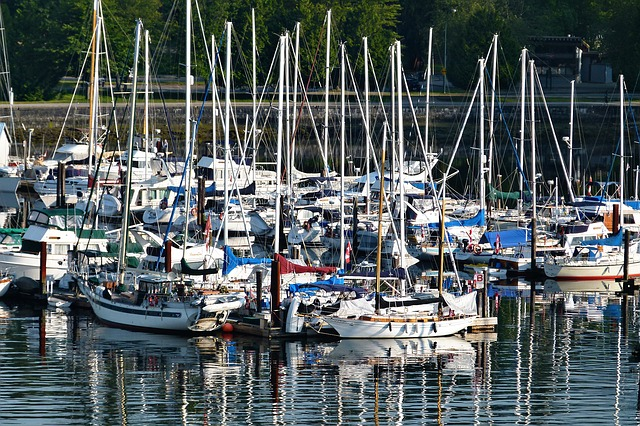yachting, harbor, vancouver, water, pacific, ships