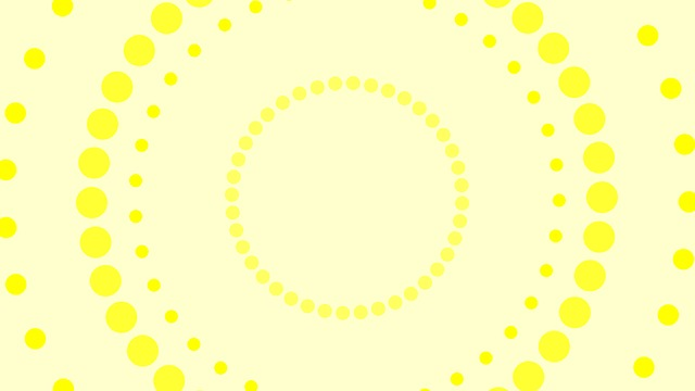 yellow, circles, background