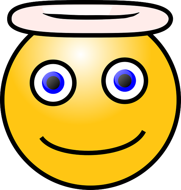 yellow, people, face, cartoon, round, angel, smilies