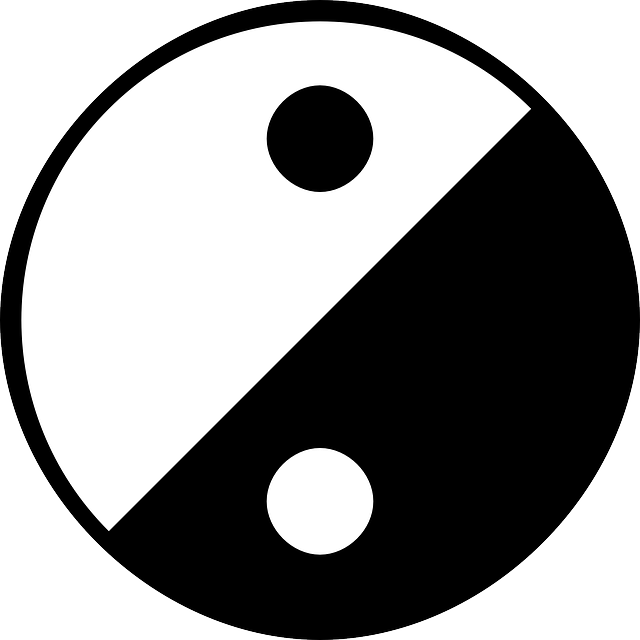 yinyang, yin and yang, yang, yin, balance, circle
