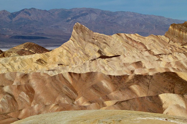 zabriskie, zabriskie point, death valley, california