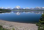 , jackson lake, grand teton national park, wyoming, water