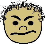 angry, avatar, comics, curly, face, head