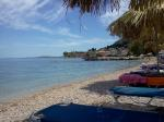 beach, greece, corfu, sea, sand