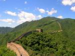 china, great wall of china, sky, clouds, wall, stone