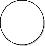 circle, shapes, round, shape, flowchart, geometry
