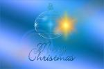 greeting card, christmas ornament, christmas, blue