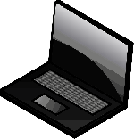 laptop, notebook, computer, keyboard, technology