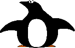 pinguin, tux, animal, simple, bird