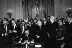 president, lyndon b johnson, civil rights act of 1964