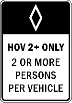sign, drive, car, only, lane, information, driving
