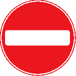 sign, stop, symbol, safety, circle, cartoon, signs