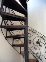 stairs, spiral staircase, emergence, gradually, railing
