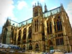 tilt shift, cathedral, metz, france, church