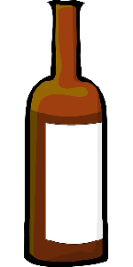 wine, bottle, cartoon, drink, alcohol, bottles