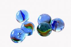 , blue, glass, marbles, kids, games, play, round