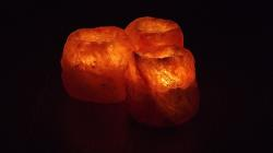 , brand, flame, stone, stones, glowing, at night