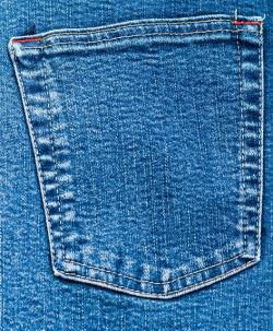 , denim, jeans, pocket, back, close-up, blue, material