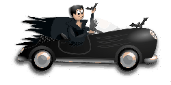 , dracula, halloween, automobile, black, blood, car