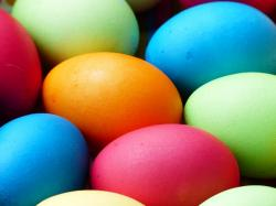 , egg, colorful, easter eggs, easter, an, paint, color