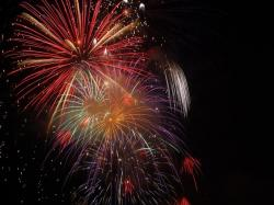 , firework, colours, night, explosions, sylvester