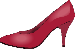 , heeled shoes, clothing, shoe, red, glossy
