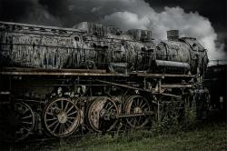 , loco, steam locomotive, train, railway, out of date