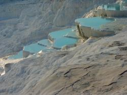 , pamukkale, lime sinter terrace, calcium, unesco