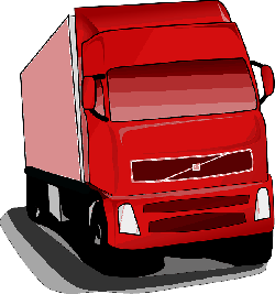 , red, icon, outline, drawing, cartoon, transportation