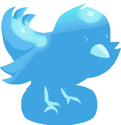 , twitter, tweet, bird, funny, cute, blue, messaging
