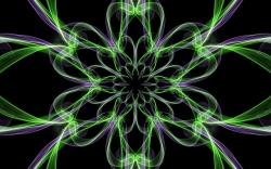abstract, black, colorful, fractal, silk