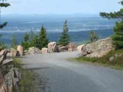 acadia, carriage roads, acadia national park, ocean