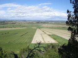 agriculture, arable, district, field, horizon, fields