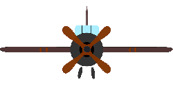 aircraft, airplane, propeller, simple