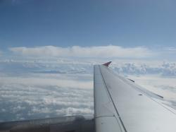aircraft, wing, clouds, fly, transport, cloud, habitat