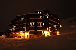 alpine, architecture, building, cold, glowing, hotel