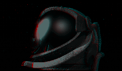 anaglyph, red green, red green glasses, 3d, night