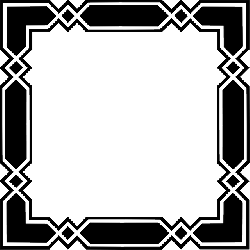 angular, black, border, box, diamond, frame, geometric