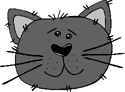 animals, cat, head, mouse, angry, faces, face, cartoon