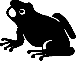 animals, frogs, monkey, frog, small, silhouette
