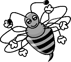 animals, honey, cartoon, bugs, bee, bug, free, cute