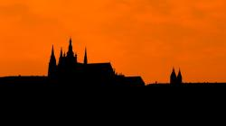 architecture, black, building, castle, cathedral