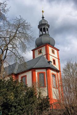 arnstein, germany, church, religion, building, sky