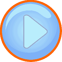 arrow, blue, button, circle, play, right, round