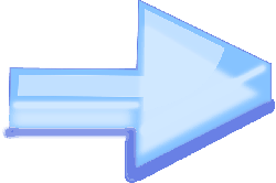 arrow, right, direction, pointer, blue