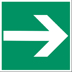 arrow, right, green, way, direction, sign, symbol, icon