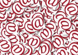 at, mail, email, electronic mail, internet, spam, junk