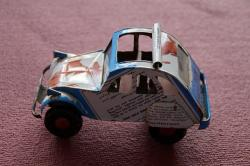 auto, toy car, africa, can car, box, from cans, sheet