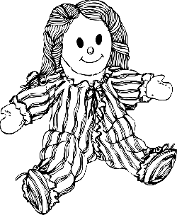 baby, black, outline, white, cartoon, toy, play